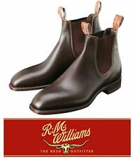 R M WILLIAMS CLASSIC CRAFTSMAN BOOTS - LEATHER SOLE - FREE EXPRESS POST