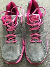 NIKE DOWNSHIFTED PINK GREY WOMENS TRAINERS. NIKE WOMENS SIZE 8 TRAINERS