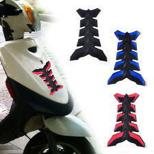 For Motorcycle Rubber Tank Pad Oil Gas Protector Sticker Decal Cover Fish Bone