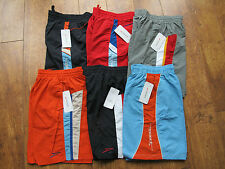 Speedo ASSORTED large boys 28  BLACK BLUE RED GREY NAVY  kids junior Swim SHORTS