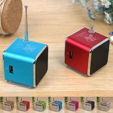 Portable Micro SD TF USB Mini Stereo Speaker Music Player FM Radio PC MP3 /4