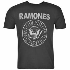 Mens T Shirt Crew Neck Amplified Clothing The Ramones New
