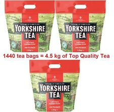Tea Yorkshire Harrogate Taylor 4.5kg, 1440 Tea Bags Of Top Quality Tea, Free Del