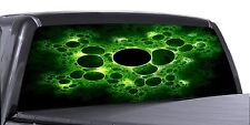 VuScapes Truck Rear Window Graphic - 4 SIZES AVIAL. - GREEN ECTOPLASM