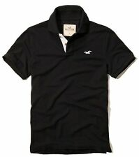 New Hollister By Abercrombie Mens Muscle Fit Short Sleeve Polo Shirt Size XL