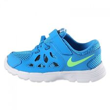 NIKE Kids Fusion Run 2 TDV  Running Shoes NIB Toddler Size 7 / 23.5 Blue Green