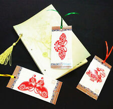 Paper-cut bookmark Chinese style tourism products traditional handicrafts gifts