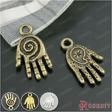 50PCS 19*11MM Buddha hand Charms Pendants Jewelry Findings Accessories 19579
