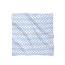 Mickey Polka Dots Blue Satin Style Scarf - Bandana in 3 sizes