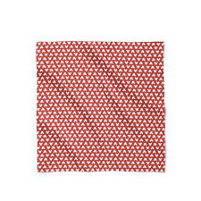 Mickey Polka Dots Red Satin Style Scarf - Bandana in 3 sizes