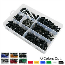 Universal Motorbike Sportbike Windscreen Fairing Bolts Kit Fastener Clips Screws