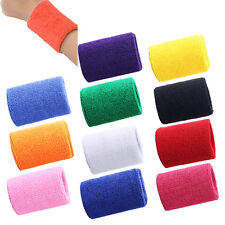 Elastic Pro Sport Sweatbands Wrist Sweat Bands Fitness GYM Wristband Band Towel