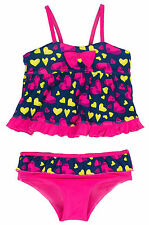 Pink Platinum Baby Girls Love Hearts Two Piece Tankini Swimsuit