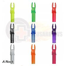 Bohning A Nocks 12 pack for Archery Arrows Replaces Easton X Nock Shaft .205