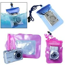 Case Cover Water Proof Bag Pouch Digital Camera Underwater Scuba Diving Swimming