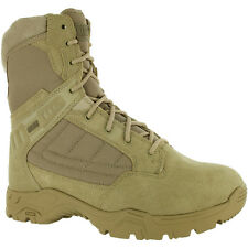 Magnum Mens Tan Leather Response II 8In Tactical Boots 900 Denier