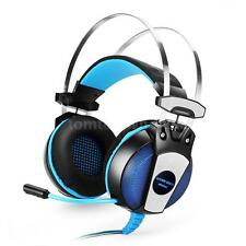 EACH GS500 Pro Stereo Gaming Headphone Headset w/ Mic Cool LED for PS4 PC Laptop