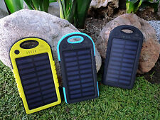 Solar Panel Battery Off Grid Kit 2 USB Outputs Cell Phone Charger LED Lamp Light
