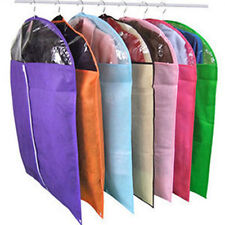 Home Dress Clothes Garment Suit Cover Bags Dustproof Storage Protector 3 Size S