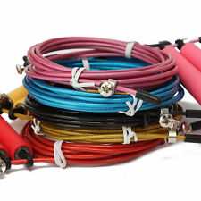 Speed Wire Skipping Adjustable Jump Rope Fitness Exercise Cardio Sport Equipment