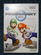 NINTENDO Wii MARIO KART GAME Complete w CASE and MANUAL Tested, Works Great!