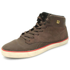 Reebok Mens SL Chukka J92950 Brown Leather Hi-Top Classic Trainers UK 6