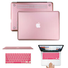 "Rose Gold Ductile Hard Case Keyboard Cover Macbook Pro 13/15"" Retina Air 13/11"""