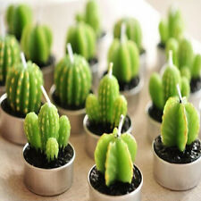 Cactus Candles House Decoration Birthday Wedding Scented Craft Candles No Box