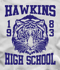 HAWKINS HIGH SCHOOL TIGERS 1983 T-Shirt from Stranger Things TV show