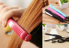 Curls Ceramic Electronic Pink Iron New comb Hair Straightener Mini Straightening