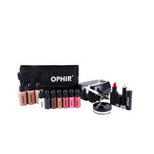 Airbrush Makeup System Set Makeup w/ Foundation Blush Eyeshadow & Cosmetic Bag