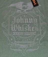 Helix T-Shirt The Johnny Whiskey Bar & Saloon New York City Mens Graphic Tee