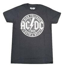 """AC/DC """"High Voltage Rock & Roll"""" Black RARE T-Shirt NEW M-2X Licensed & Official"""