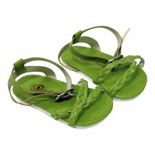 """Doll Clothes AG 18"""" Shoes Sandal Braided Green Arianna Fits American Girl Doll"""