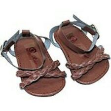 """Doll Clothes AG 18"""" Shoes Sandal Braided Brown Arianna Fits American Girl Doll"""