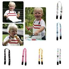 Toddlers Baby Bibs Clips Strap for Kids Apron Feeding Saliva Towel Burp Cloths