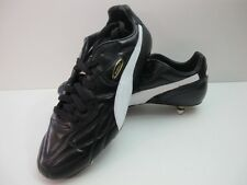 Mens Puma King Pro SG Soft Ground Black White Leather Football Boots