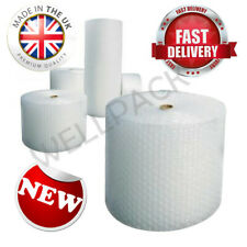 SMALL BUBBLE WRAP ROLLS - CHOOSE WIDTH/LENGTH 300mm, 500mm 750mm - FREE DELIVERY