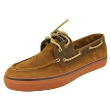 Mens Sperry Boat Shoes Style Bahama Tan Suede -W