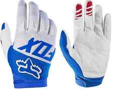 17291-002 Fox Dirtpaw Race Adult MX ATV Motorcycle Off Road Blue Gloves