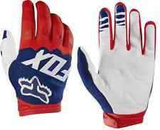 17291-054 Fox Dirtpaw Race Adult MX ATV Motorcycle Off Road Red White Gloves