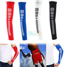 Basketball Cycling Sports Compression Arm Elbow Long Sleeve Oversleeve Protector