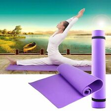 New Bag 3 colour Thick Mat Pad for Leisure Picnic Exercise Fitness Yoga JS~