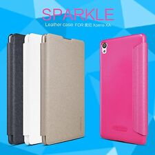 Nillkin Sparkle PU Leather Flip Case Cover for Sony Xperia XA  F3116
