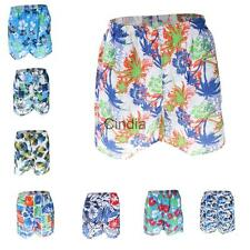 Mens Surf Board Shorts Beach Boardshorts Swimwear Pants Swim Shorts Quick Dry