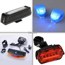 Cycling Bicycle Flashing Front Rear Taillight LED Light Lamp Torch Headlight BF