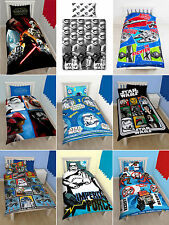 Star Wars Childrens Single Double Quilt Cover Duvet Cover Bedding Sets Kids
