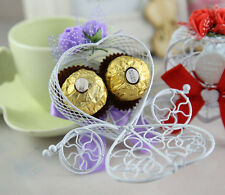 Wedding Chocolate Boxes Candy Carriage Cinderella Favours Birthday Party 1pc