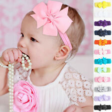 Baby Kids Girl Toddler Lace Bowknot Headband Hair Band Headwear Accessories New