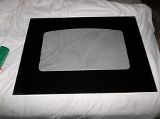 part WB56T10179 GE Range Oven Outer door glass black from a ge jbp55dm1bb